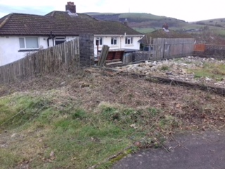 Bramble Cut Down Llangeinor