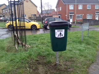 Dog Waste Bin Bettws