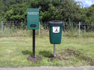 Dog Waste Bag and Dispenser Llangeinor